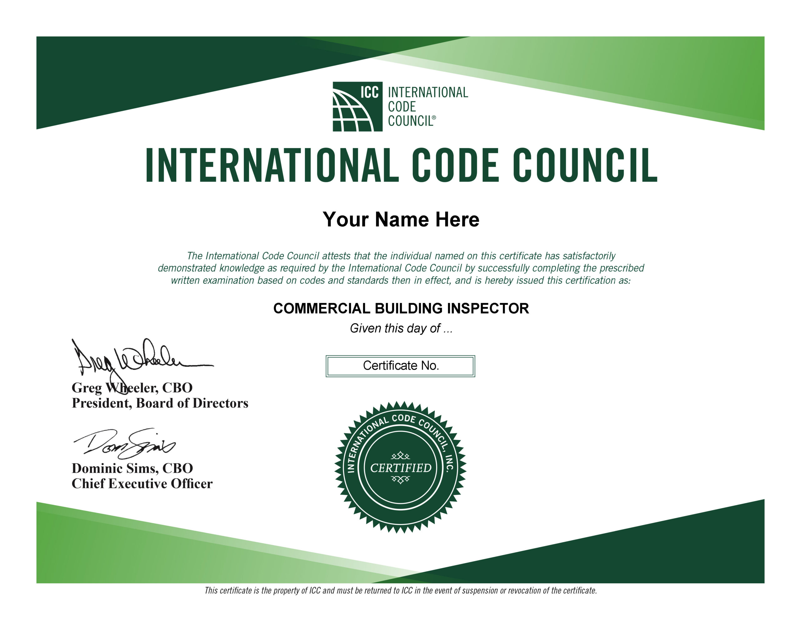 inspector b2 building commercial exam practice prep certificate try why need