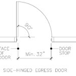 Residential Egress Door Size